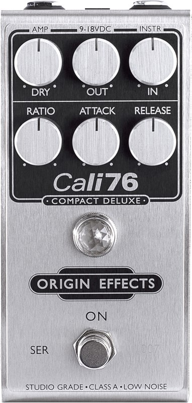Origin Effects Cali76 Compact Deluxe Front