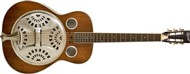 Ozark 3515DD Deluxe Wooden Spider Resonator with Distressed Finish