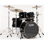 Pacific PDP CM5 Concept Maple 5 Piece Shell Pack, Pearlescent Black
