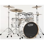 Pacific PDP CM5 Concept Maple 5 Piece Shell Pack, Pearlescent White