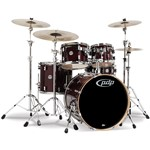 Pacific PDP CM5 Concept Maple 5 Piece Shell Pack, Transparent Cherry Lacquer