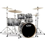 Pacific PDP CM6 Concept Maple 6 Piece Shell Pack (Silver to Black Sparkle Fade)