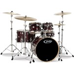 Pacific PDP CM6 Concept Maple 6 Piece Shell Pack (Transparent Cherry Lacquer)