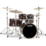 Pacific PDP CM6 Concept Maple 6 Piece Shell Pack (Transparent Walnut Lacquer)