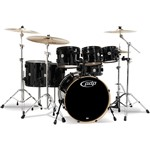 Pacific PDP CM7 Concept Maple 7 Piece Shell Pack, Pearlescent Black
