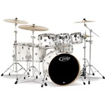 Pacific PDP CM7 Concept Maple 7 Piece Shell Pack, Pearlescent White