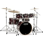 Pacific PDP CM7 Concept Maple 7 Piece Shell Pack, Transparent Walnut Lacquer