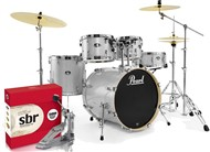 Pearl Export USA Fusion Kit, Arctic White Sparkle