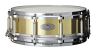 Pearl FTBR1450 Free Floating Task Specific Brass 14x5in Snare (Brushed)