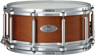 Pearl FTMMH1465 Free Floating Task Specific Maple Mahogany 14x6.5in Snare (Satin Amber Mahogany)