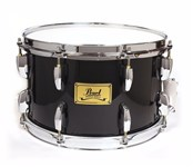 Pearl Maple Soprano Snare Drum, Piano Black
