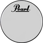 Pearl PTH-22CEQPL Logo Bass Drum Head 22in