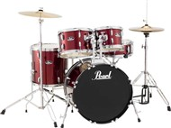 Pearl RS505 Roadshow 5 Piece Studio Kit (Red Wine)