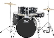 Pearl RS525S Roadshow 5 Piece Standard Kit (Jet Black)