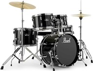 Pearl RS585 Roadshow 5 Piece Complete Junior Kit (Jet Black)