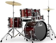 Pearl RS585 Roadshow 5 Piece Complete Junior Kit (Red Wine)