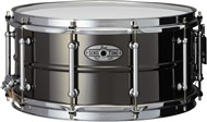 Pearl SensiTone Beaded Brass Snare 14x6.5in, Black Nickel