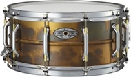 Pearl SensiTone Premium Beaded Brass Snare, 14x6.5in, Patina