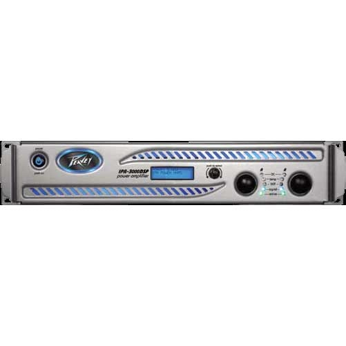 Peavey IPR DSP 6000 2000 Watt Power Amplifier With Onboard DSP