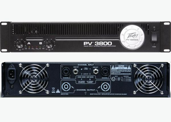 peavey pv 3800 power amplifier. Black Bedroom Furniture Sets. Home Design Ideas