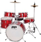 Performance Percussion PP200 Junior Drum Set (Red)