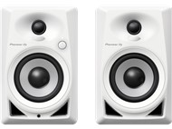 Pioneer DM-40 Active Desktop Monitors, White