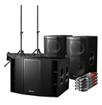 Pioneer XPRS 12 2400W Active Speaker With Sub