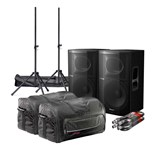 Pioneer XPRS 15 2400W Active Speaker Cab bundle