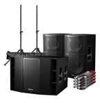 Pioneer XPRS 15 2400W Active Speaker Cab With Sub