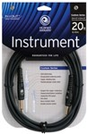 D'Addario Planet Waves PW-G-20 Custom Series Instrument Cable, 6m/20ft