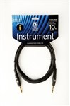 D'Addario Planet Waves PW-G-10 Custom Series Instrument Cable, 3m/10ft