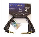 Planet Waves Custom Series Patch Cable (2-Pack, Right Angle, 6 Inch)