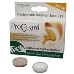 Pro Guard Mould Your Own Ear Plugs (Beige)