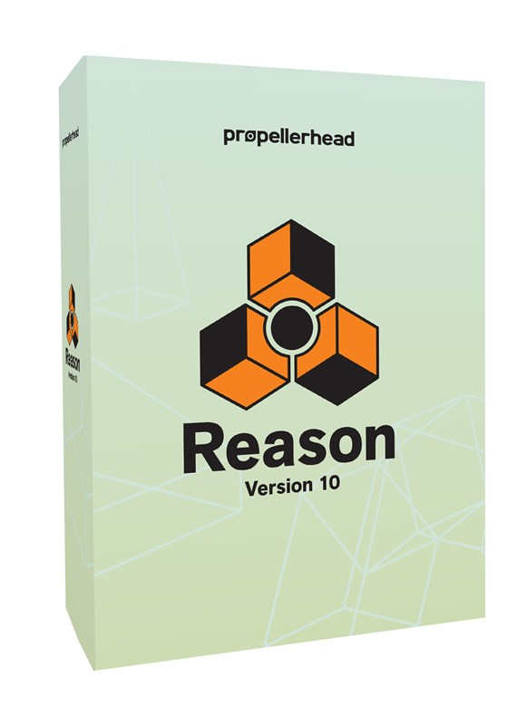 Propellerhead Reason 10 Recording Software boxed