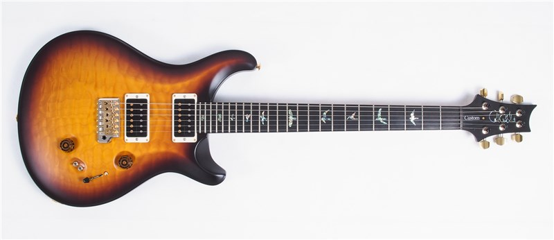 PRS WL Custom 24 Tobacco Smoke Burst 1