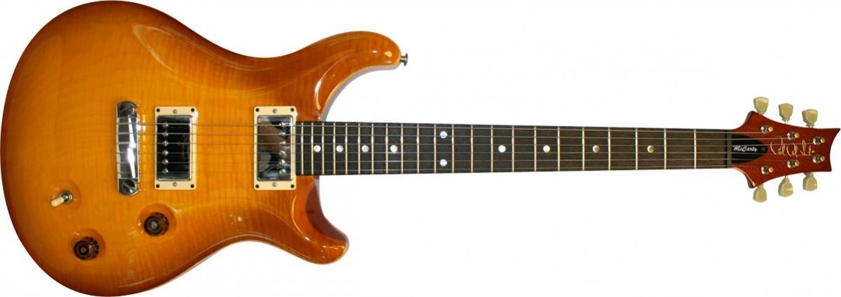 PRS McCarty with Moons (McCarty Sunburst)
