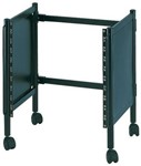 Quik Lok RS655 10U Multi Rack Stand on Castors