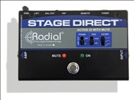 Radial StageDirect Active Muting DI Box