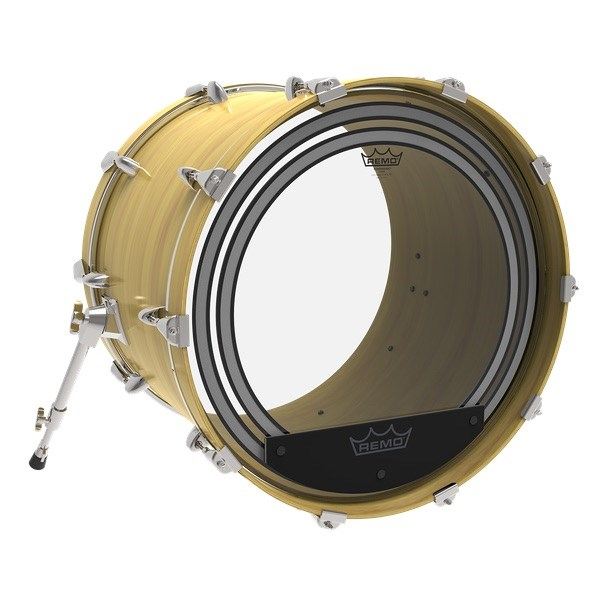 Powersonic Clear Bass Drum Head (18in)