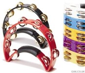 Rhythm Tech Tambourine w/Nickel Jingles (Red) - RTT3R
