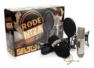 Rode NT2-A Studio Solution Multi-Pattern Condenser Mic Pack