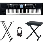 Roland BK-5 Backing Keyboard Bundle