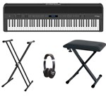 Roland FP-90 Digital Piano Black bundle