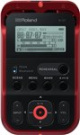 Roland R-07 Portable Audio Recorder Red Main