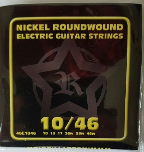 Rosetti 46E1046 Electric Guitar Strings 10-46