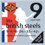 Rotosound BS9 British Steels Light 9-42 Main