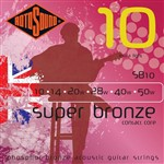 Rotosound SB10 Super Bronze Acoustic, Extra Light, 10-50