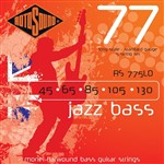 Rotosound RS775LD Jazz Bass, Long Scale, Standard, 5-String, 45-130