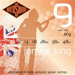 Rotosound JK9 Jumbo King Electric, Super Light, 9-48