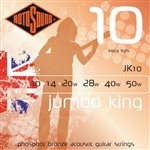 Rotosound JK10 Jumbo King Electric, Extra Light, 10-50
